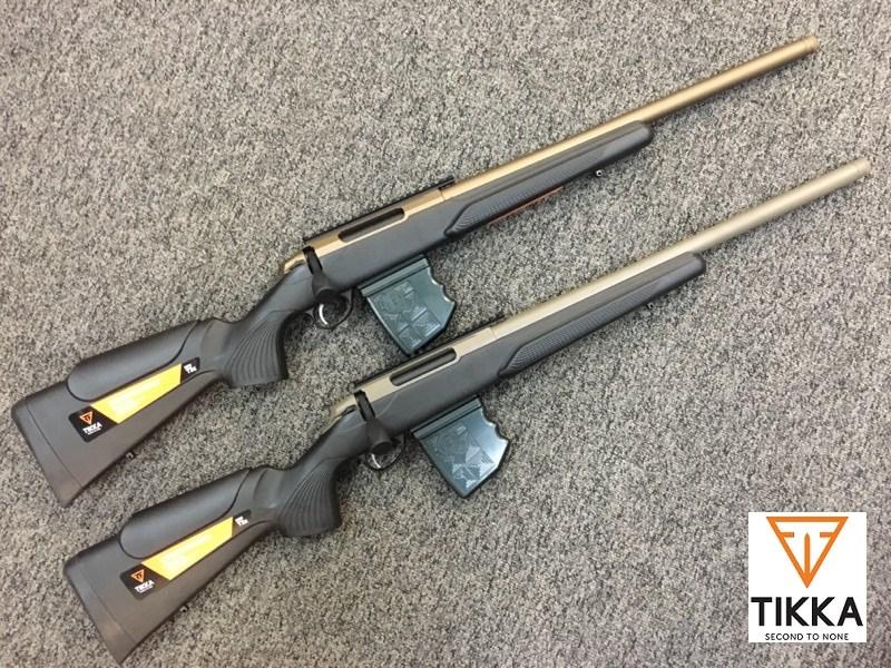 Tikka t3 stock options