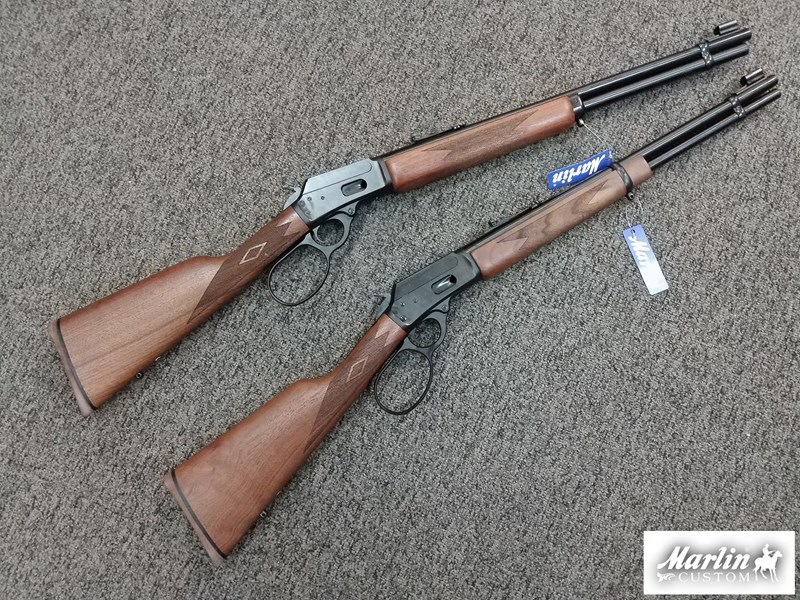 MARLIN 1894 CLASSIC CUSTOM BLUED FINISH WALNUT STOCK   FOREND WWG BIG LOOP  LEVER WWG TRIGGER HAPPY KIT aaa60bc33333